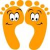 Rheumatoid Arthritis does not cause smelly feet :-)